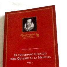 Libros de segunda mano: EL INGENIOSO HIDALGO DON QUIJOTE DE LA MANCHA VOL I CERVANTES SAAVEDRA ED CONMEMORATIVA IV CENTENARI. Lote 146725013