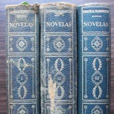 Libros de segunda mano: FRANK G. SLAUGHTER. NOVELAS. III TOMOS. Lote 146736622