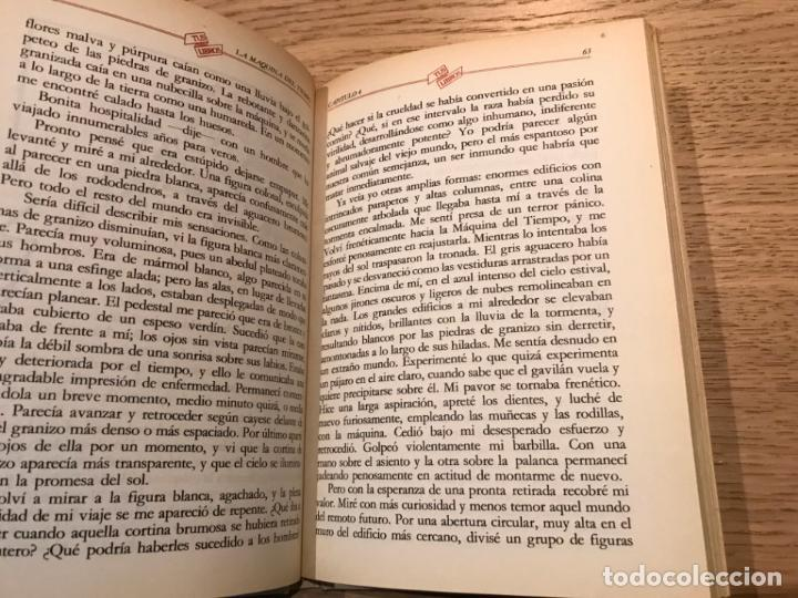 Libros de segunda mano: TUS LIBROS. Nº 18. LA MÁQUINA DEL TIEMPO. HERBERT GEORGE WELLS. ANAYA PRIMERA EDICION 1982 - Foto 3 - 147315610