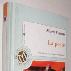 Libros de segunda mano: LA PESTE - ALBERT CAMUS - ENE. Lote 147364342