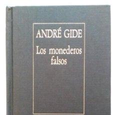 Libros de segunda mano: ANDRÉ GIDE: LOS MONEDEROS FALSOS. BORGES. ED. ARGENTINA. Lote 147461770