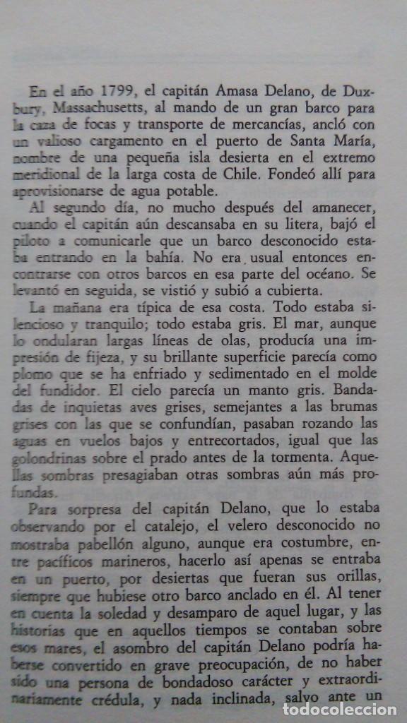 Libros de segunda mano: MELVILLE: BENITO CERENO; BILLY BUDD; BARTLEBY, EL ESCRIBIENTE. BORGES. ED. ARGENTINA - Foto 2 - 147462138