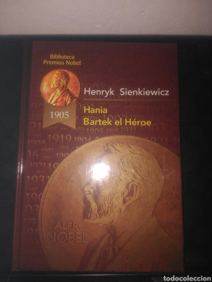 BIBLIOTECA PREMIOS NOBEL,HANIA Y BARTEK EL HEROE, HENRYK SIENKIEWICZ (Libros de Segunda Mano (posteriores a 1936) - Literatura - Narrativa - Clásicos)