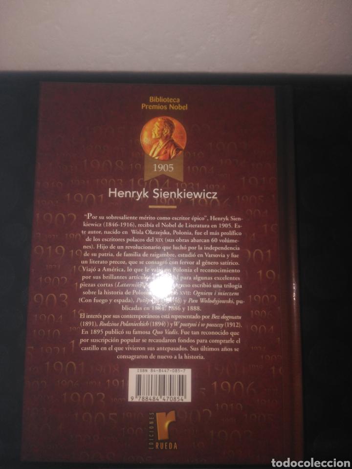 Libros de segunda mano: Biblioteca premios nobel,Hania y Bartek el heroe, Henryk Sienkiewicz - Foto 2 - 147496794