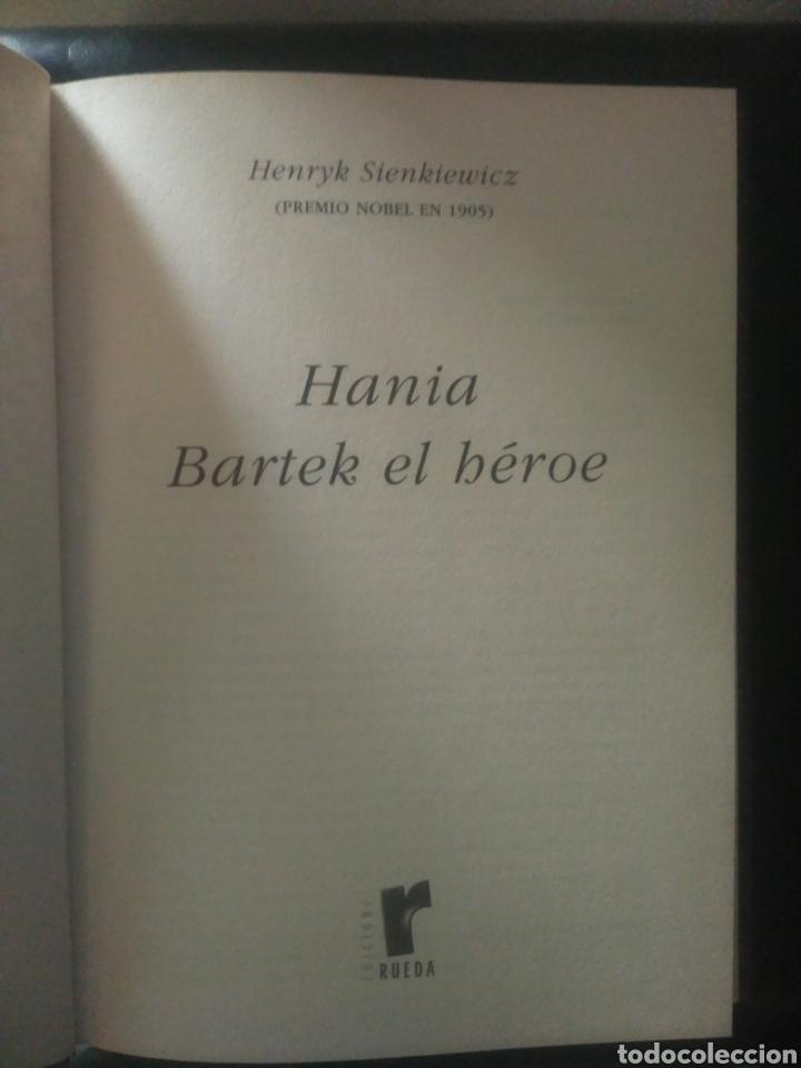 Libros de segunda mano: Biblioteca premios nobel,Hania y Bartek el heroe, Henryk Sienkiewicz - Foto 3 - 147496794