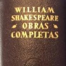 Libros de segunda mano: OBRAS COMPLETAS - WILLIAM SHAKESPEARE. Lote 147505090