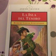 Libros de segunda mano: BIBLIOTECA DE AVENTURA Y MISTERIO - LA ISLA DEL TESORO. Lote 147511325
