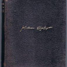 Libros de segunda mano: WILLIAM SHAKESPEARE OBRAS COMPLETAS EDICIONES AGUILAR . Lote 147517434