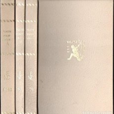 Libros de segunda mano: TEATRE HAGIOGRÀFIC - 3 VOLUMS (NOSTRES CLÀSSICS BARCINO, 1957) CATALÀ. Lote 147624018
