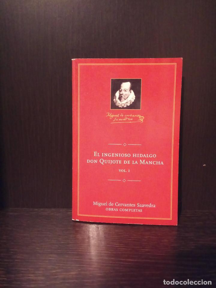 EL INGENISO HIDALGO DON QUIJOTE DE LA MANCHA 2005 QUIXOTE SANCHO PANZA CONMEMORATIVO EDICION ANETO (Libros de Segunda Mano (posteriores a 1936) - Literatura - Narrativa - Clásicos)