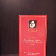 Libros de segunda mano: EL INGENISO HIDALGO DON QUIJOTE DE LA MANCHA 2005 QUIXOTE SANCHO PANZA CONMEMORATIVO EDICION ANETO . Lote 147786270