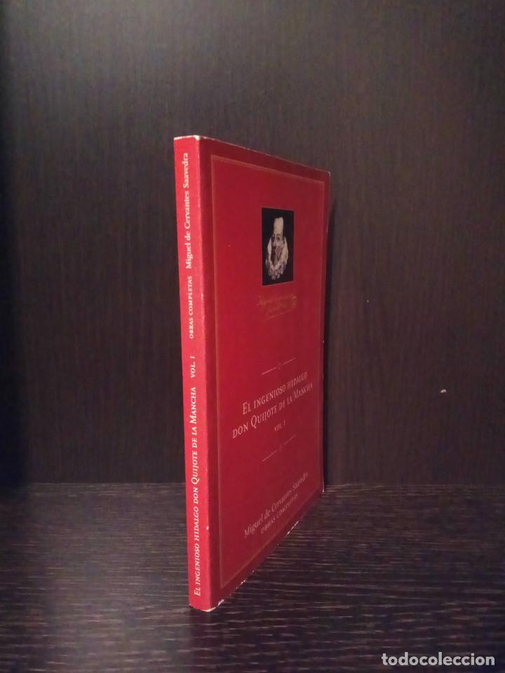 Libros de segunda mano: El ingeniso Hidalgo don quijote de la mancha 2005 quixote sancho panza Conmemorativo edicion aneto - Foto 2 - 147786270