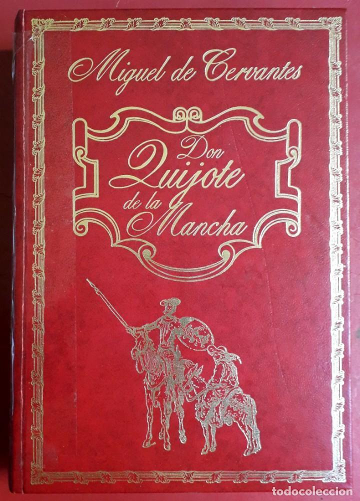 MIGUEL DE CERVANTES . DON QUIJOTE DE LA MANCHA (Libros de Segunda Mano (posteriores a 1936) - Literatura - Narrativa - Clásicos)