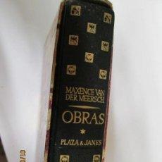 Libros de segunda mano: MAXENCE VAN DER MEERSCH OBRAS EL PECADO DEL MUNDO,LEED EN MI CORAZON , LA COMPAÑERA . Lote 147939250