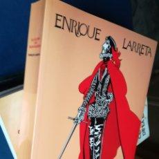 Libros de segunda mano: LA GLORIA DE DON RAMIRO ENRIQUE LARRETA. HOMENAJE A LA CIUDAD DE ÁVILA, 2002.ILUSTRADO. Lote 148064801