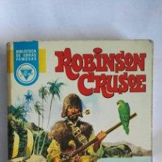 Libros de segunda mano: ROBINSON CRUSOE BIBLIOTECA DE OBRAS FAMOSAS. Lote 148240808