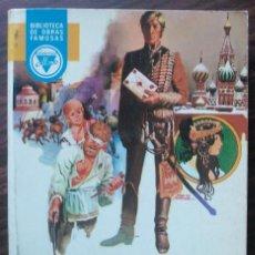 Libros de segunda mano: JULIO VERNE. MIGUEL STROGOFF. Lote 148253750