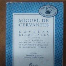 Libros de segunda mano: NOVELAS EJEMPLARES (MIGUEL DE CERVANTES) COLECCION AUSTRAL - OFI15B. Lote 148549354