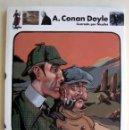 Libros de segunda mano: EL PERRO DE LOS BASKERVILLE, DE ARTHUR CONAN DOYLE. CLÁSICOS UNIVERSALES. ILUSTRADO POR NICOLLET. Lote 149328526