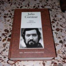 Libros de segunda mano: LIBRO. JULIO CORTÁZAR, OBRAS COMPLETAS, TOMO I. RBA E INSTITUTO CERVANTES, 2004. Lote 149407646