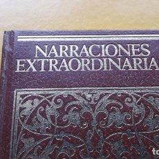 Libros de segunda mano: NARRACIONES EXTRAORDINARIAS. (EDGAR ALLAN POE). Lote 149408942