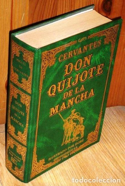 DON QUIJOTE DE LA MANCHA POR MIGUEL DE CERVANTES SAAVEDRA DE ED. EDICOMUNICACIÓN EN BARCELONA 1997 (Libros de Segunda Mano (posteriores a 1936) - Literatura - Narrativa - Clásicos)