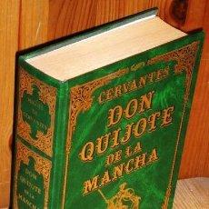 Libros de segunda mano: DON QUIJOTE DE LA MANCHA POR MIGUEL DE CERVANTES SAAVEDRA DE ED. EDICOMUNICACIÓN EN BARCELONA 1997. Lote 129139739