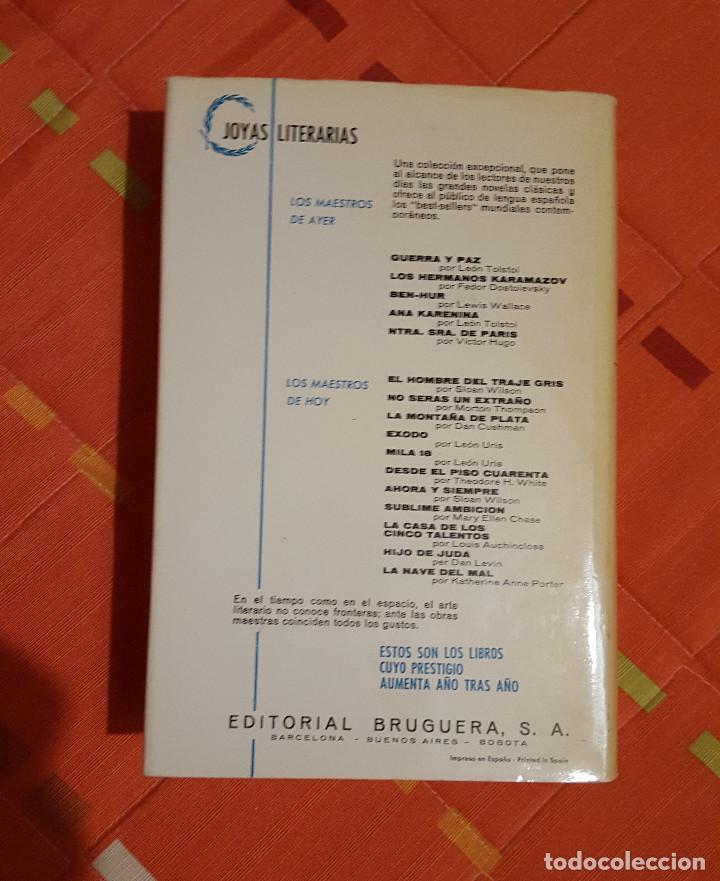 Libros de segunda mano: Ana Karenina Leon Tolstoi Joya Literarias Ed. Bruguera tapa dura 1ª Edición 1963 - Foto 3 - 149623342