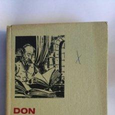 Libros de segunda mano: DON QUIJOTE DE LA MANCHA SERIE CLÁSICOS JUVENILES. Lote 149677665