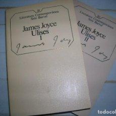 Libros de segunda mano: ULISES, JAMES JOYCE 2 LIBROS. Lote 149690274