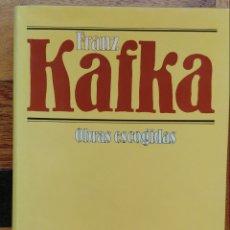 Libros de segunda mano: OBRAS ESCOGIDAS FRANK KAFKA CÍRCULO. Lote 178396128