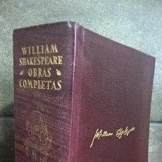 Libros de segunda mano: OBRAS COMPLETAS. WILLIAM SHAKESPEARE. AGUILAR 1967. . Lote 150217702
