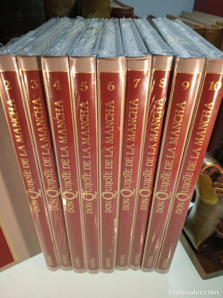 Libros de segunda mano: DON QUIJOTE DE LA MANCHA - MIGUEL DE CERVANTES SAAVEDRA - INFANTIL - COMIC - A ESTRENAR - 10 TOMOS - - Foto 2 - 150227342