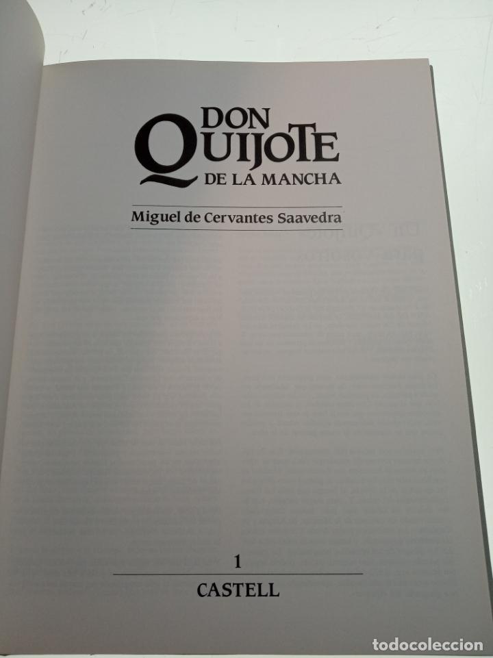 Libros de segunda mano: DON QUIJOTE DE LA MANCHA - MIGUEL DE CERVANTES SAAVEDRA - INFANTIL - COMIC - A ESTRENAR - 10 TOMOS - - Foto 4 - 150227342