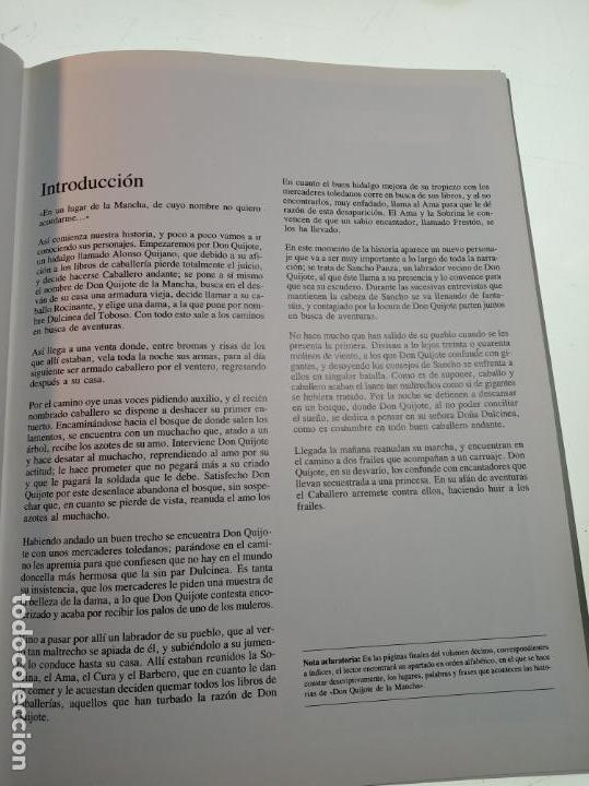 Libros de segunda mano: DON QUIJOTE DE LA MANCHA - MIGUEL DE CERVANTES SAAVEDRA - INFANTIL - COMIC - A ESTRENAR - 10 TOMOS - - Foto 6 - 150227342