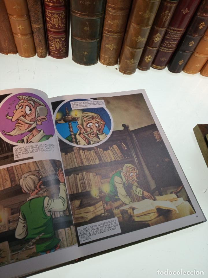 Libros de segunda mano: DON QUIJOTE DE LA MANCHA - MIGUEL DE CERVANTES SAAVEDRA - INFANTIL - COMIC - A ESTRENAR - 10 TOMOS - - Foto 8 - 150227342