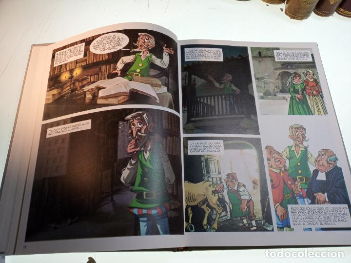 Libros de segunda mano: DON QUIJOTE DE LA MANCHA - MIGUEL DE CERVANTES SAAVEDRA - INFANTIL - COMIC - A ESTRENAR - 10 TOMOS - - Foto 9 - 150227342
