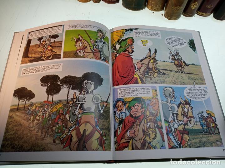Libros de segunda mano: DON QUIJOTE DE LA MANCHA - MIGUEL DE CERVANTES SAAVEDRA - INFANTIL - COMIC - A ESTRENAR - 10 TOMOS - - Foto 10 - 150227342