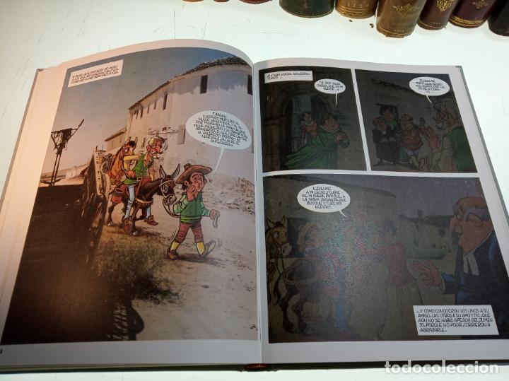 Libros de segunda mano: DON QUIJOTE DE LA MANCHA - MIGUEL DE CERVANTES SAAVEDRA - INFANTIL - COMIC - A ESTRENAR - 10 TOMOS - - Foto 11 - 150227342