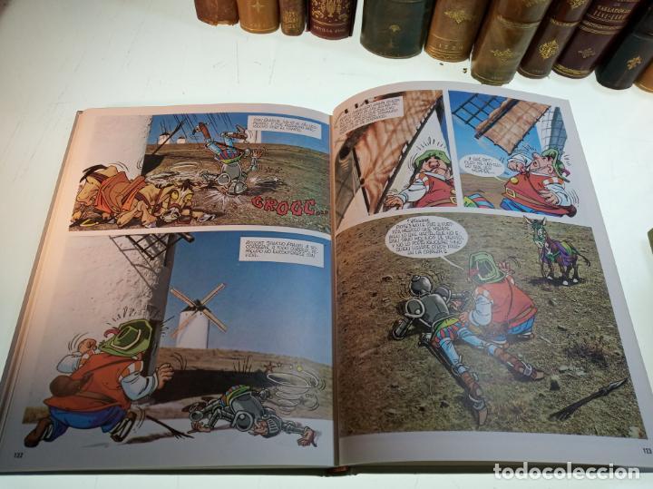 Libros de segunda mano: DON QUIJOTE DE LA MANCHA - MIGUEL DE CERVANTES SAAVEDRA - INFANTIL - COMIC - A ESTRENAR - 10 TOMOS - - Foto 13 - 150227342