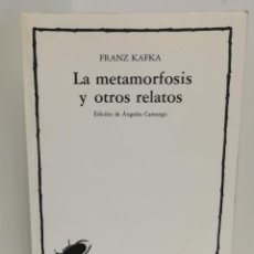 Libros de segunda mano - LA METAMORFOSIS Y OTROS RELATOS. FRANZ KAFKA - 150634694