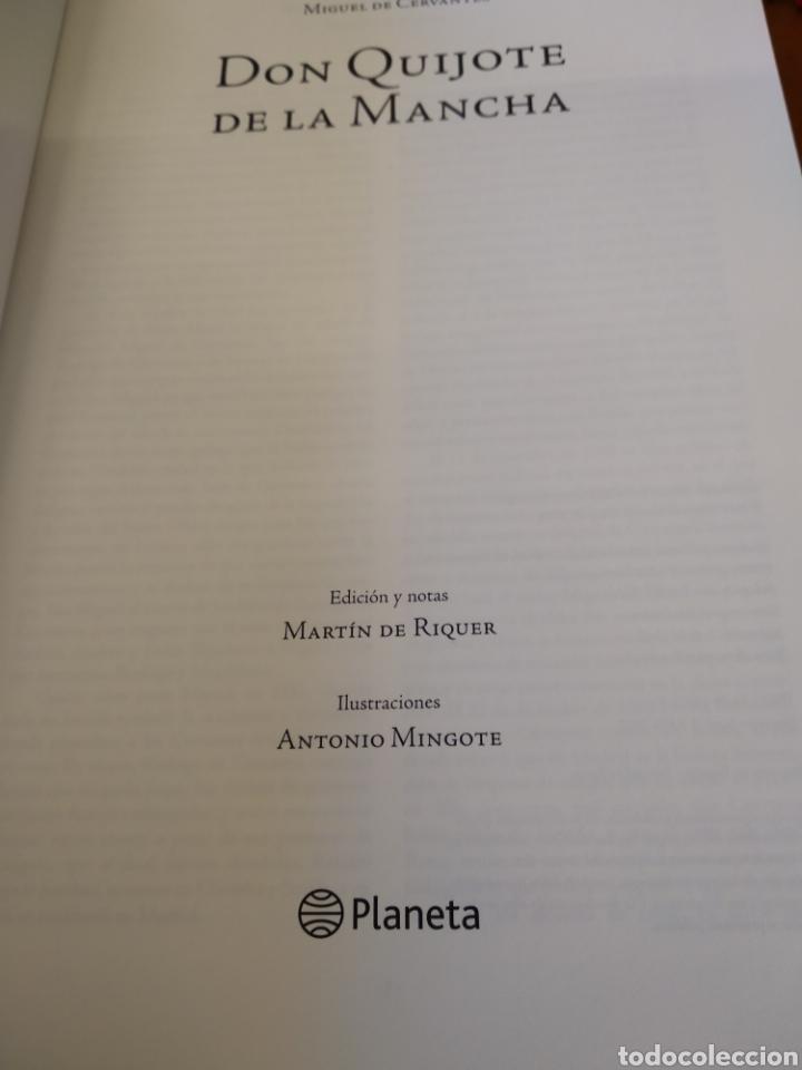 Libros de segunda mano: DON QUIJOTE DE LA MANCHA. MIGUEL DE CERVANTES - Foto 4 - 150980432