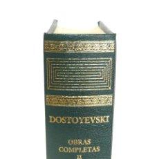 Libros de segunda mano: 2004 - AGUILAR - FIODOR M. DOSTOYEVSKI: OBRAS COMPLETAS. TOMO II - CRIMEN Y CASTIGO - EL IDIOTA. Lote 151010642
