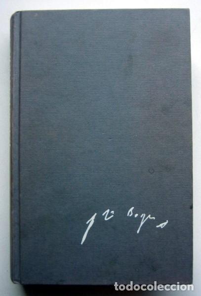 OBRAS COMPLETAS DE JORGE LUIS BORGES 1923-1949. TOMO 1 (Libros de Segunda Mano (posteriores a 1936) - Literatura - Narrativa - Clásicos)