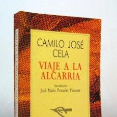 Libros de segunda mano: VIAJE A LA ALCARRIA (EDICIÓN DE 1990) DE CAMILO JOSÉ CELA, EDITORIAL ESPASA CALPE, COLECCIÓN AUSTRAL. Lote 151526998