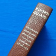 Libros de segunda mano: MAESTROS ITALIANOS I. MARINO, BASILE, METASTASIO, GOLDONI, PARINI, ALFIERI. EDITORIAL PLANETA, 1970. Lote 152047070