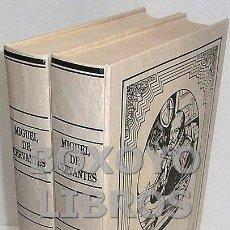 Libros de segunda mano: CERVANTES, MIGUEL. EL INGENIOSO HIDALGO DON QUIJOTE DE LA MANCHA. Lote 131213859