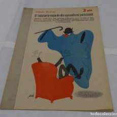 Libros de segunda mano: EL INDOLENTE VIAJE DE DOS APRENDICES PEREZOSOS- CARLOS DICKENS -MANOLO PRIETO DISEÑADOR GRAFICO DEL . Lote 152281922