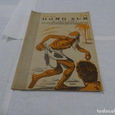 Libros de segunda mano: HOMO SUN - JORGE EBERS - MANOLO PRIETO DISEÑADOR GRAFICO DEL TORO OSBORNE. Lote 152282586