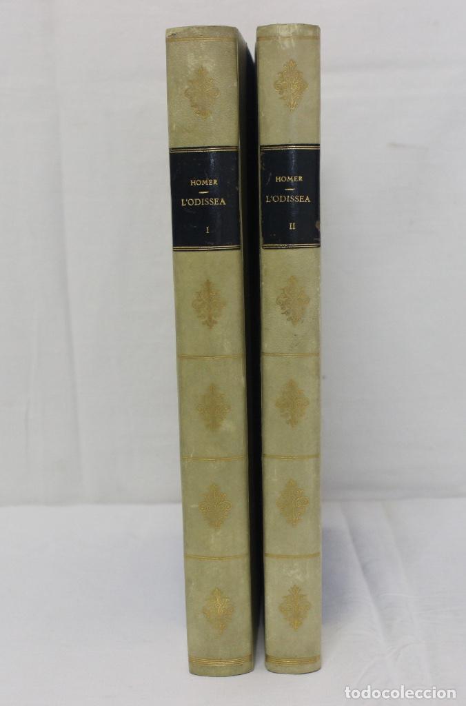 LA ODISSEA DE HOMER, TRADUCIDA AL CATALÁN POR CARLES RIBA GRABADOS A LA MADERA POR E.C. RICART. 1948 (Libros de Segunda Mano (posteriores a 1936) - Literatura - Narrativa - Clásicos)
